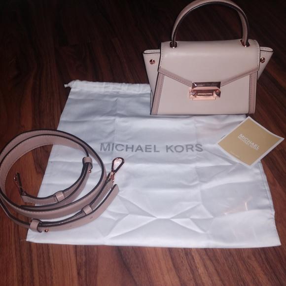 39dc2a7db0c0 MICHAEL Michael Kors Bags | Michael Kors Whitney Crossbody Soft ...